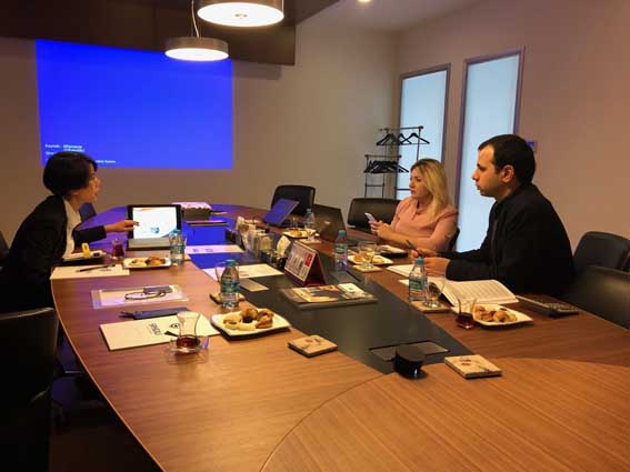 ESG Bearing Having Meetings and Presentations with...