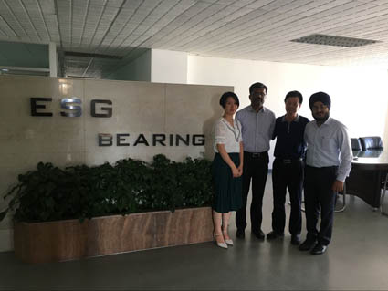 Mill Line Manufacturer Visited ESG Bearing